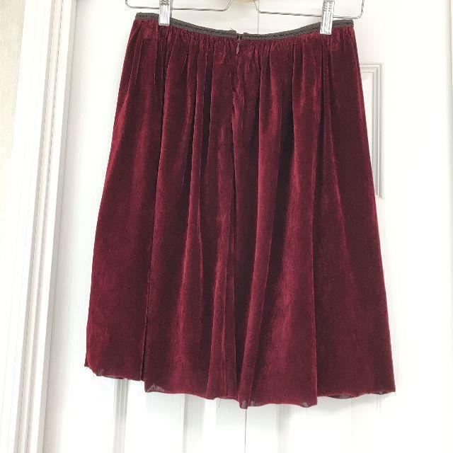 Soareak(ソアリーク)の【NEW】Soareak ベロアスカート レディースのスカート(ひざ丈スカート)の商品写真