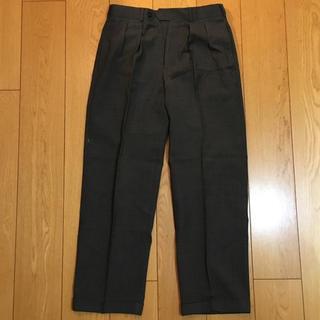 W71〜74cm ビンテージ物 オールドイングランド 灰色スラックス