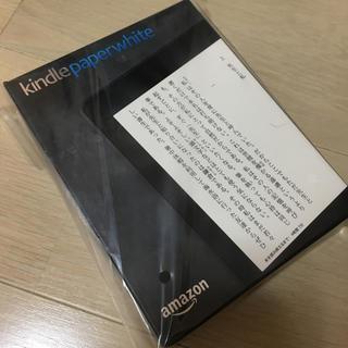Kindle Paperwhite Wi-Fi  ブラック、キャンペーン情報つき(電子ブックリーダー)