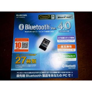 エレコム(ELECOM)のθエレコム Bluetooth USBアダプタ Ver4 LBT-UAN05C2(PC周辺機器)