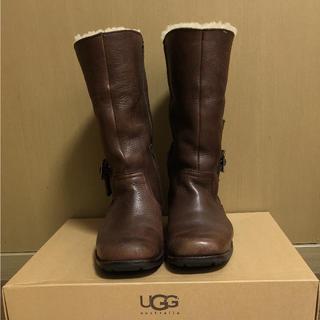 アグ(UGG)のUGG本革ブーツ(ブーツ)