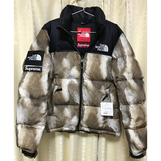 シュプリーム(Supreme)のsupreme  north Face fur nuptse S vanson(ダウンジャケット)
