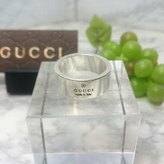 グッチ(Gucci)の■グッチ SV925 ロゴリング(リング(指輪))