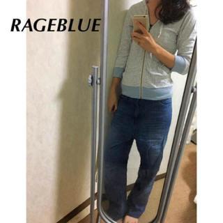 レイジブルー(RAGEBLUE)のrageblue デニム ワイドパンツ 流行り(デニム/ジーンズ)