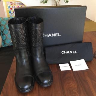 シャネル(CHANEL)のけい様専用 美品 シャネル ブーツ(ブーツ)