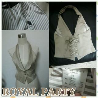 ロイヤルパーティー(ROYAL PARTY)のベスト(カットソー(半袖/袖なし))