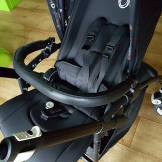 エアバギー(AIRBUGGY)の新品!バガブービー3 バガブービー5 フロントバー(ベビーカー用アクセサリー)