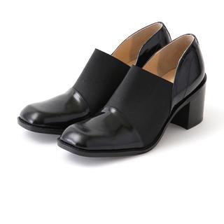 ステュディオス(STUDIOUS)のクラネ clane WIDE GORE FLAT SHOES 37(ローファー/革靴)