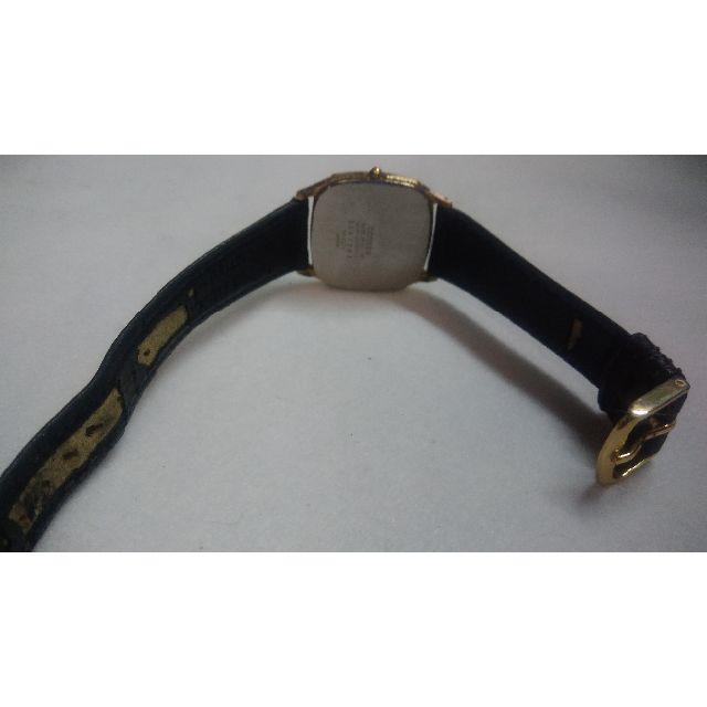 CITIZEN(シチズン)の腕時計 CITIZEN シチズン クォーツ メンズ 中古 黒黒 メンズの時計(腕時計(アナログ))の商品写真