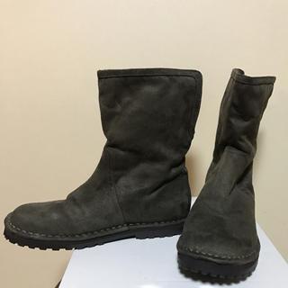 ムジルシリョウヒン(MUJI (無印良品))の無印良品 ハーフブーツ(ブーツ)