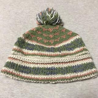 【美品】ボーダーニット帽子 ウニコ購入