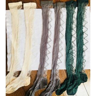 アッシュペーフランス(H.P.FRANCE)の専用 ANTIPAST シースルー レースソックス 靴下 アンティパスト 3色(ソックス)