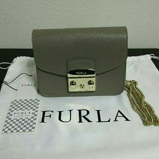 e6be61921469 フルラ(Furla)のフルラ メトロポリス サッビア ライトグレー グレージュ (ショルダーバッグ)