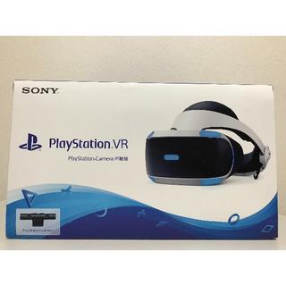 プレイステーションヴィーアール(PlayStation VR)のキツネ様 新品未使用 新型 PlayStation VR カメラ同梱 おまけ付(家庭用ゲーム機本体)