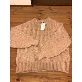 ザラ(ZARA)のZARA 今期 サーモンピンク セーター 新品(ニット/セーター)