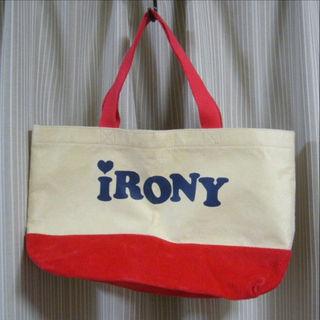 アイロニー(IRONY)の★iRONY トートバッグ★新品未使用(トートバッグ)