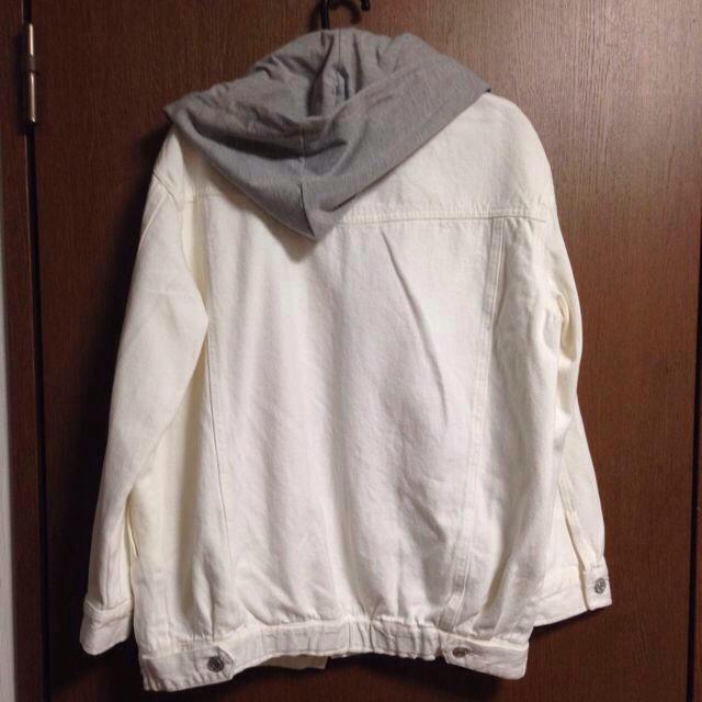ホワイトデニムGジャン レディースのジャケット/アウター(Gジャン/デニムジャケット)の商品写真