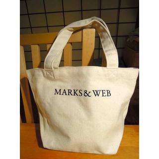 マークスアンドウェブ(MARKS&WEB)の*MARKS&WEBミニトート  キャンバス生地  12/17(日)までの出品!(日用品/生活雑貨)