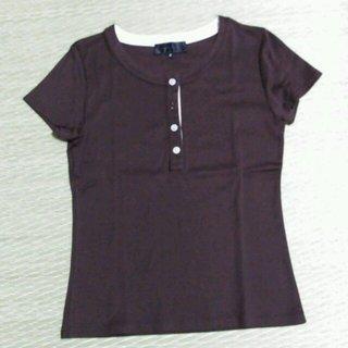 アンタイトル(UNTITLED)のUNTITLED Tシャツ 茶(Tシャツ(半袖/袖なし))