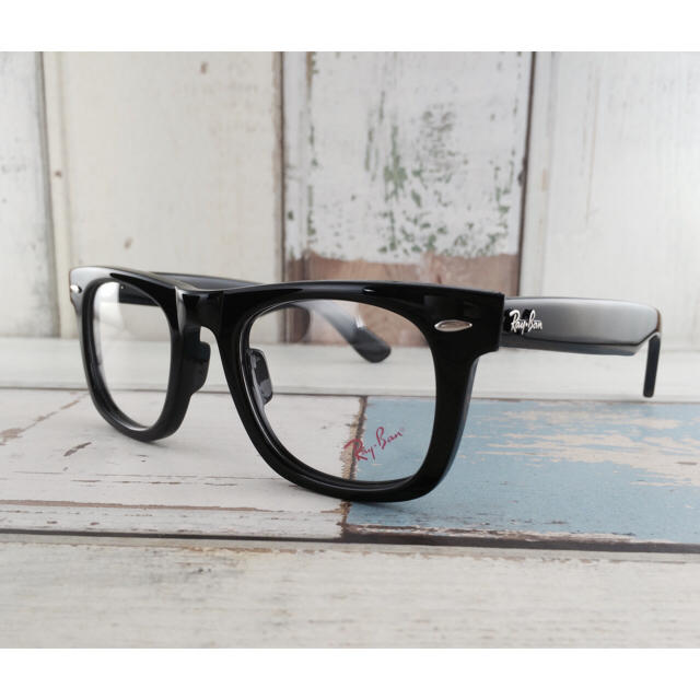 Ray-Ban(レイバン)のレイバンRayBan RB5121  2000〈ブラックフレーム×伊達メガネ〉 メンズのファッション小物(サングラス/メガネ)の商品写真