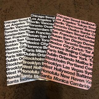 アメリカンアパレル(American Apparel)のAmerican apparelノートブック3色からお選び下さい(ノート/メモ帳/ふせん)