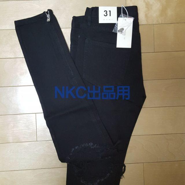最安!【新品 31】MNML m1 黒 Fear Of God 同型モデル K4 メンズのパンツ(デニム/ジーンズ)の商品写真