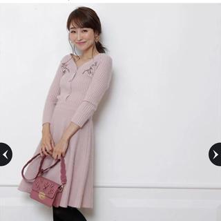リランドチュール(Rirandture)のリランドチュール♡刺繍ワンピース(ニット/セーター)