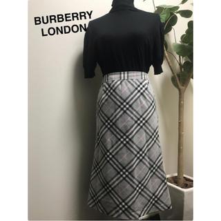 バーバリー(BURBERRY)のバーバリー スカート 美品(ひざ丈スカート)