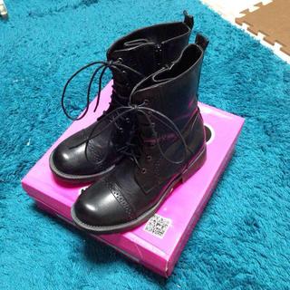 ブラックショートブーツ(ブーツ)