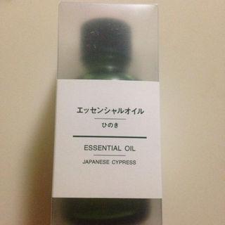ムジルシリョウヒン(MUJI (無印良品))の未使用 無印良品 エッセンシャルオイル 30ml ひのき(アロマグッズ)