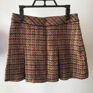 ココボンゴ(COCOBONGO)のボックスプリーツ ミニスカート(ミニスカート)