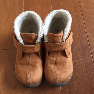 ムジルシリョウヒン(MUJI (無印良品))の無印良品 子供用ブーツ 18㎝(ブーツ)