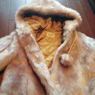 ロデオクラウンズ(RODEO CROWNS)の美品RODEO CROWNSフェイクファーパーカージャケット☆ロデオクラウンズブ(ブルゾン)