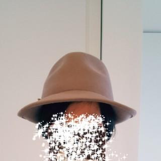 ランバンオンブルー(LANVIN en Bleu)の新品タグ付き ランバン ハット  帽子 調整可(ハット)