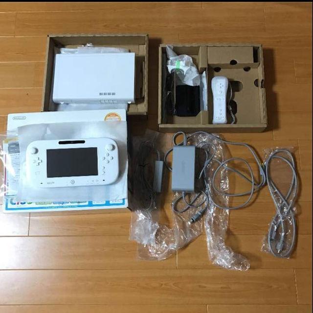Wii U(ウィーユー)の☆Wii U すぐに遊べるスポーツプレミアムセット エンタメ/ホビーのテレビゲーム(家庭用ゲーム本体)の商品写真