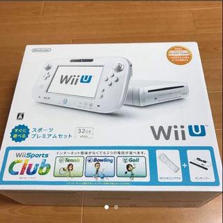 ウィーユー(Wii U)の☆Wii U すぐに遊べるスポーツプレミアムセット(家庭用ゲーム本体)