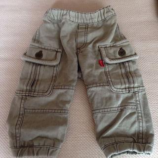 ハッカキッズ(hakka kids)の【hakka baby】 厚手パンツ サイズ80(パンツ)