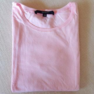 グッチ(Gucci)の【GUCCI】Tシャツ ピンク  サイズXS(その他)