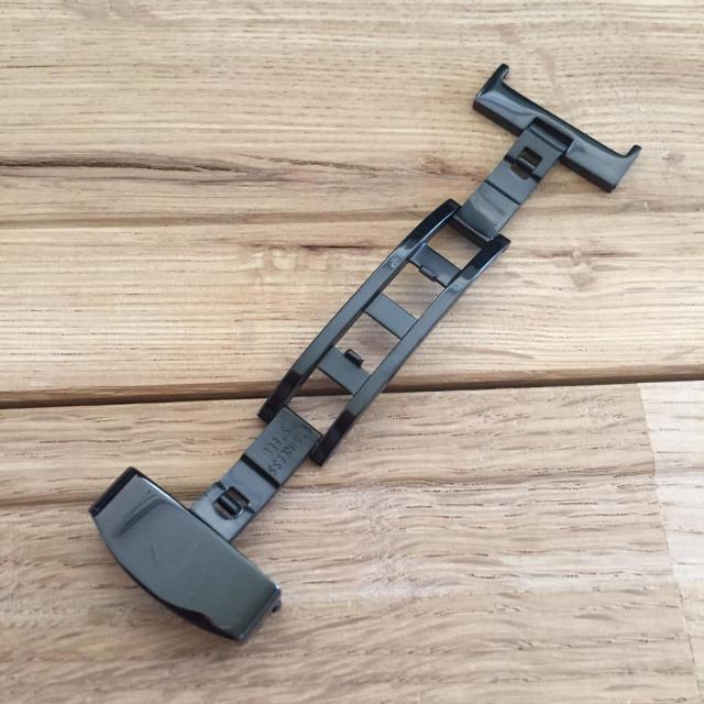 #18.20mm ブラック両開きDバックル ハンドメイドの素材/材料(各種パーツ)の商品写真