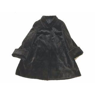 銀サガ SAGA シェアードミンク 毛皮 ファー フレアー Aライン コート(毛皮/ファーコート)