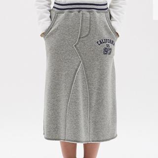 ジーユー(GU)の110 GU kids 裏起毛スカート しまむら スカート(スカート)