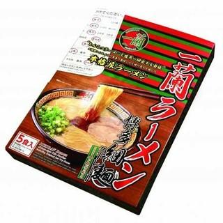 一蘭ラーメン 博多細麺 ストレート(インスタント食品)