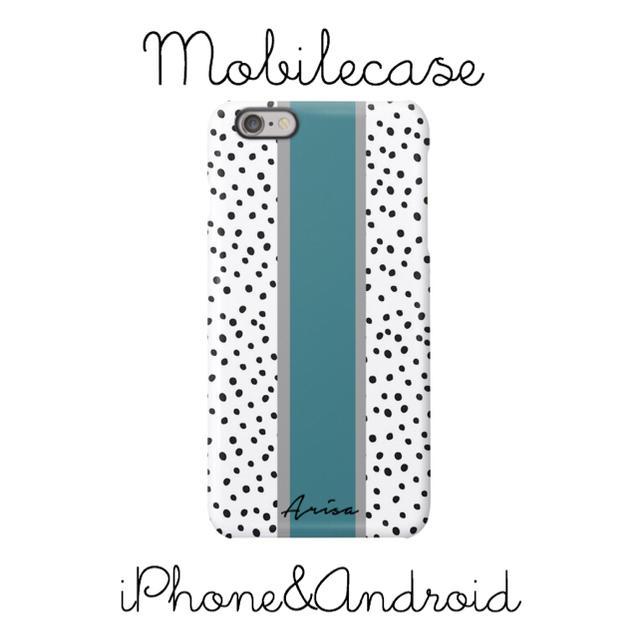 Hermes iPhone8 ケース 革製 | 名入れ可能♡ダルメシアン柄③スマホケース♡iPhone以外も対応機種多数あり♡の通販 by welina mahalo|ラクマ