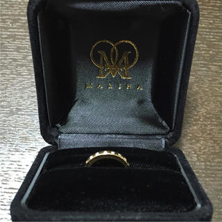 MARIHA ✳︎ 18Kダイヤモンド ピンキーリング(リング(指輪))