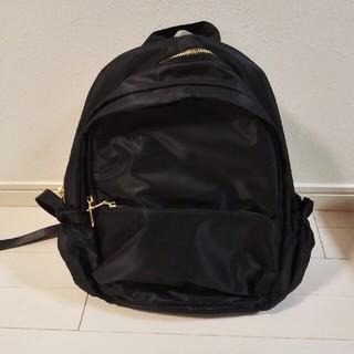 プレーンクロージング(PLAIN CLOTHING)のPLAIN CLOTHING 黒 リュック 新品(リュック/バックパック)