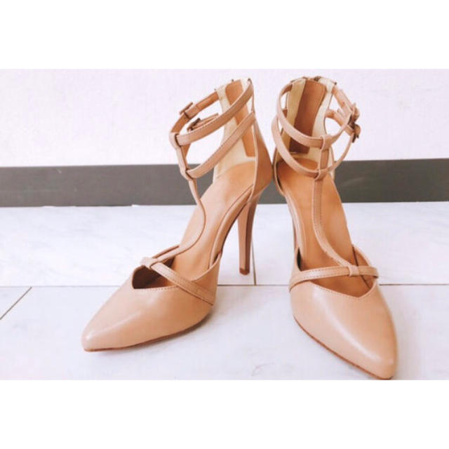 GYDA(ジェイダ)のGYDA♥定価11869♥トライアングルストラップサンダル  レディースの靴/シューズ(ハイヒール/パンプス)の商品写真