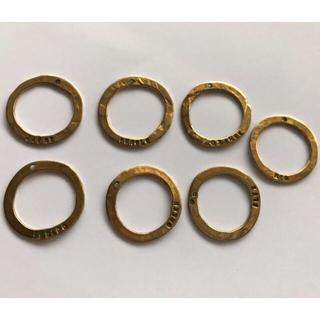 アッシュペーフランス(H.P.FRANCE)のSERGE THORAVAL ゴールド 7連リング(リング(指輪))
