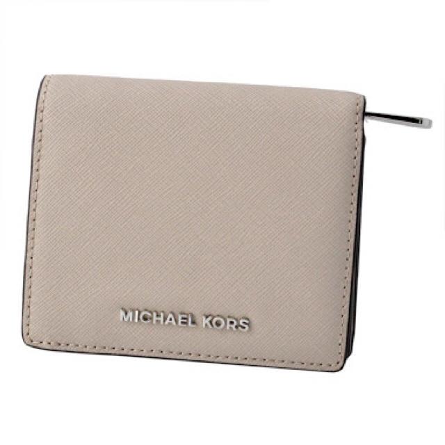 Michael Kors(マイケルコース)の1点限り マイケルコース 折財布 グレー レディースのファッション小物(財布)の商品写真