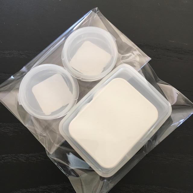 MUJI (無印良品)(ムジルシリョウヒン)の新品 小物ケース 4個セット インテリア/住まい/日用品のインテリア小物(小物入れ)の商品写真