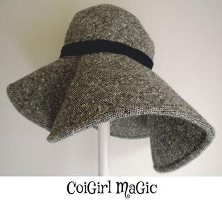 女優帽子CoiGirl MaGic(コイガールマジック)冬のウールハット55cm